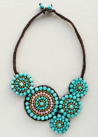Bohemian Tribes Necklace - Handmade in NYC