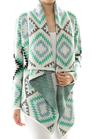 Mint Kuzco Cardigan