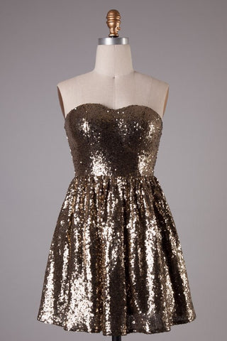 Lissa Sequins Dress