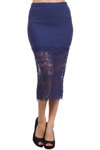 Giselle Lace Skirt