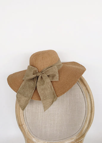 Italian Sunset Bow Hat