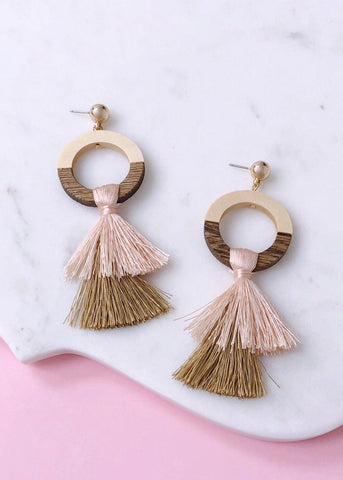 Peruvian Tassel Earrings