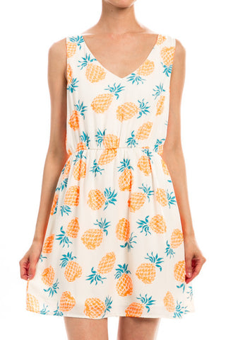 Sweetest Pineapple Dress