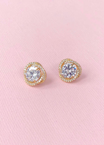 Isadora Crystal Stud Earrings