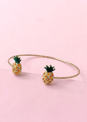 Adorable Pineapple Bangle