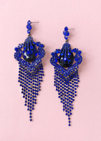 Baroque Sapphire Earrings