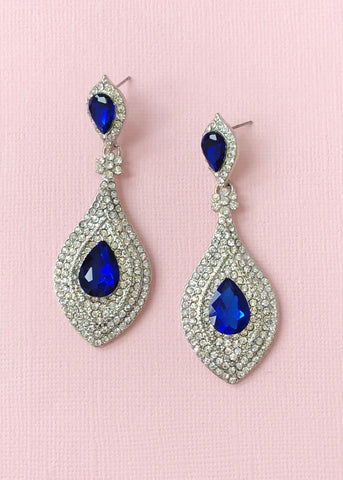 Sapphire Duchess Earrings