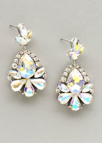 Crystal Aurora Earrings