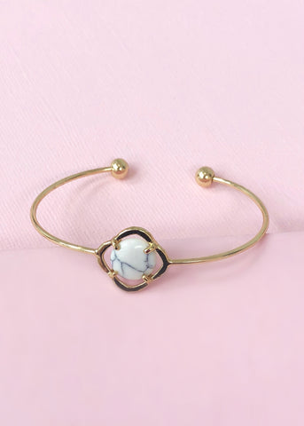 Golden Marble Bangle