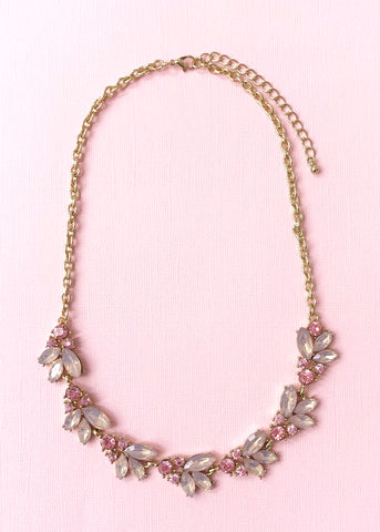 Rose Gardenia Necklace