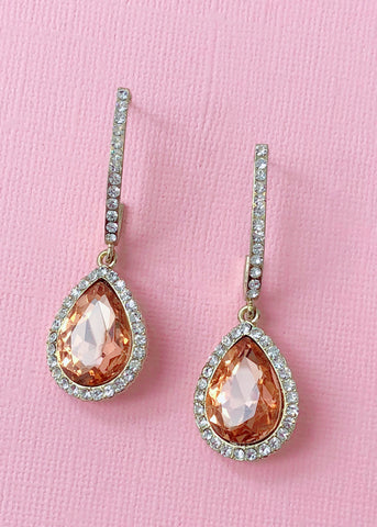 Costanza Crystal Earrings