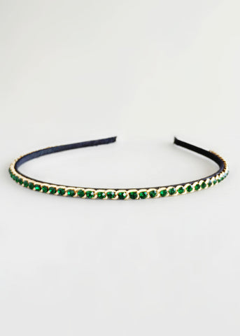 Regal Emerald Headband