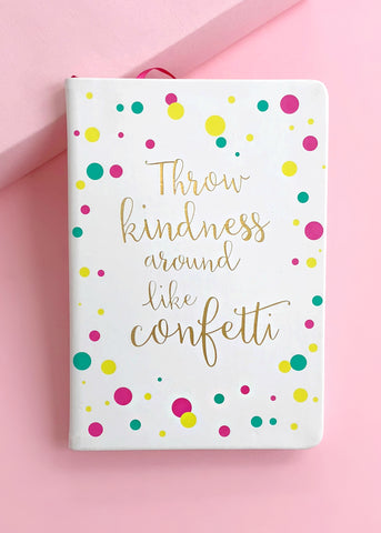 Glam Confetti Notebook