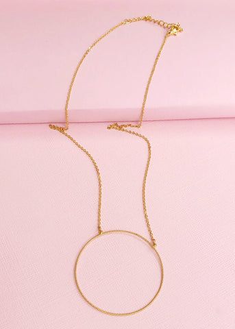 Modernity Circle Necklace