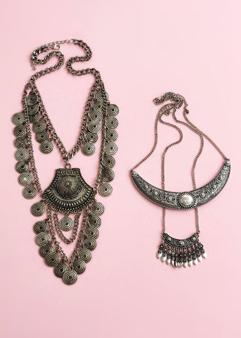 Aspasia Necklace Set