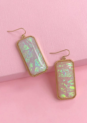 Aria Iridescent Earrings
