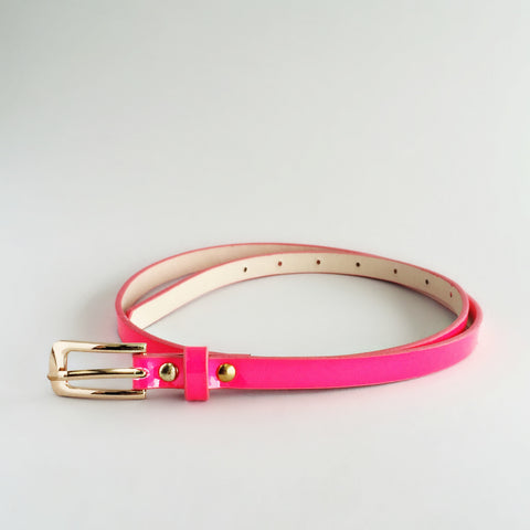 Chic Hot Pink Belt