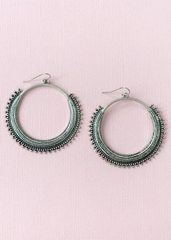 Ria Hoop Earrings