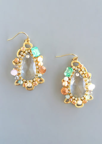 Shimmering Tahoe Earrings