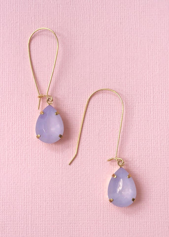 Sweet & Lovely Lavender Earrings