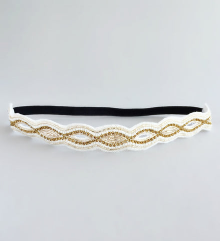 Golden Fairy Headband