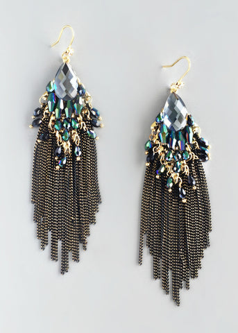 Sparkling Moon Valley Earrings