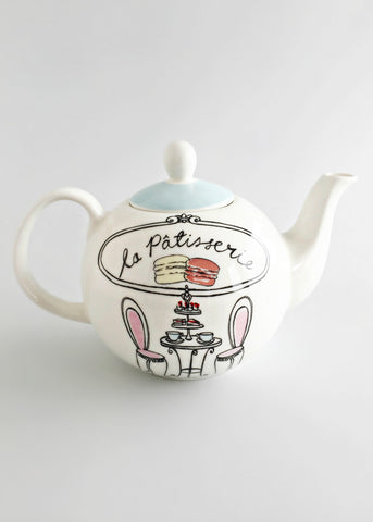 Parisian Patisserie Tea Pot