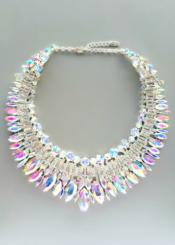 Soleil Ice Crystal Necklace - Made in France