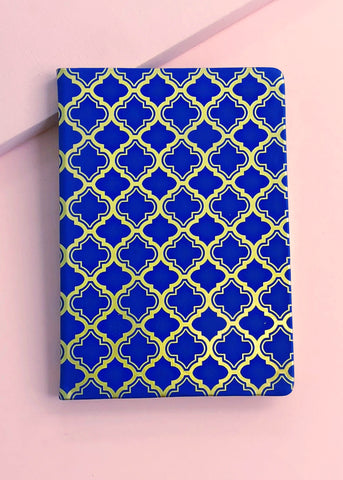 Far East Blue Notebook.