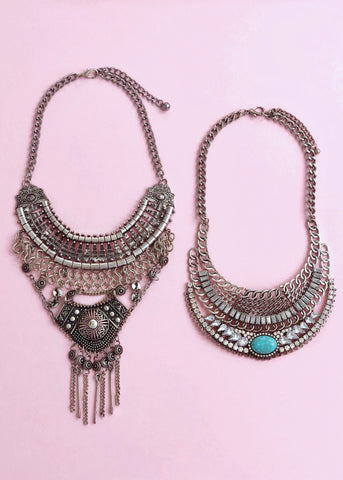 Aztec Melody Necklace Set