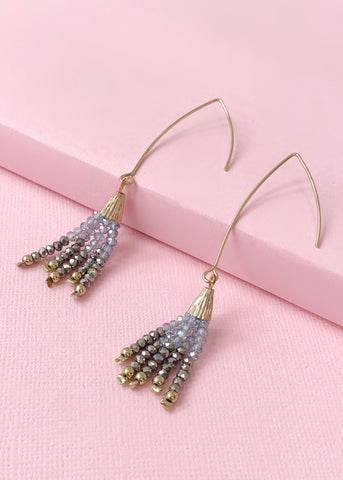 Cascading Crystals Earrings