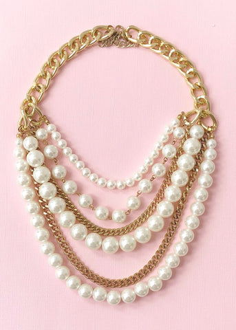 Layers of Pearls Necklace