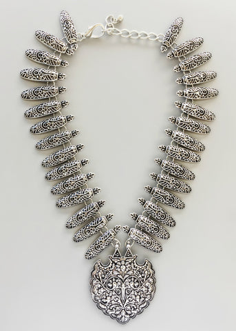 Antique Babylonia Statement Necklace