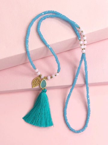 Brisbane Tassels Necklace
