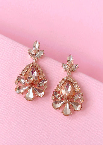 Shimmering Baroque Earrings
