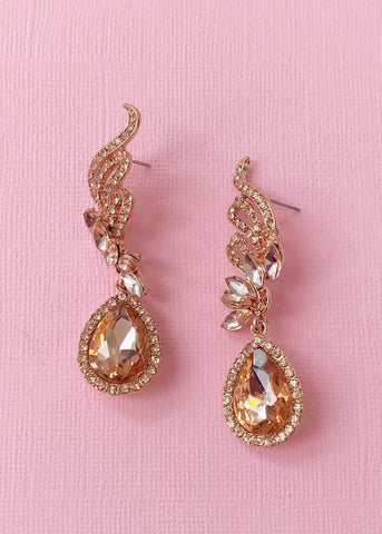 Vienna Crystal Earrings