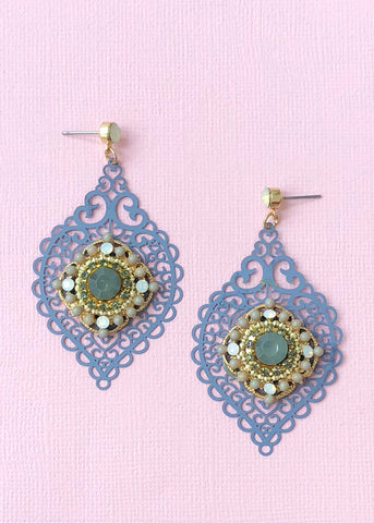Romancing in Morocco Earrings