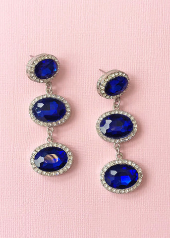 Sinclair Sapphire Earrings