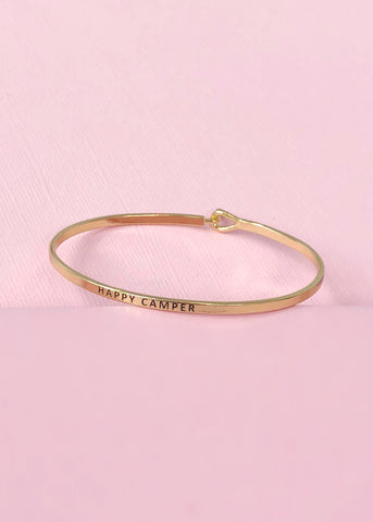 Happy Camper Bangle