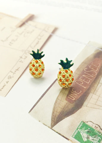 Adorable Pineapple Earrings