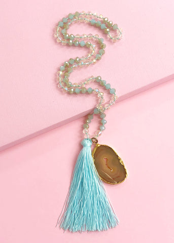 Tahiti Tassel Necklace
