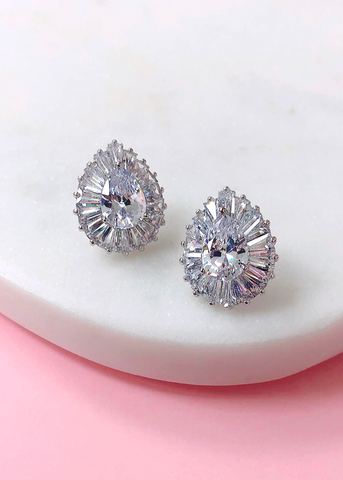 Ria Cubic Zirconia Earrings