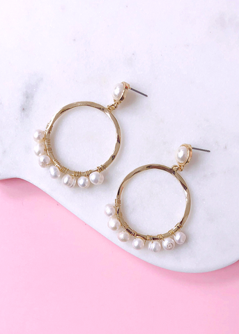 Himalayan Pearls Earrings
