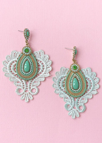 Italian Lace Earrings