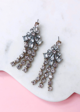 Angeline Crystal Earrings
