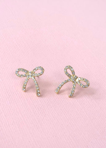 Just the Perfect Bow Earrings
