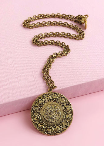 Ancient Astrology Necklace - Made in NYC