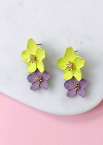 Rienzi Floral Earrings