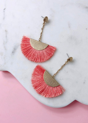 Peached Sunset Earrings