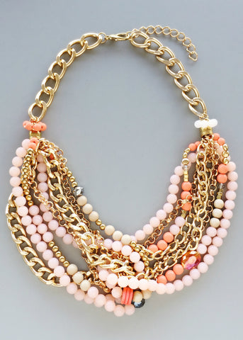 Zora Clusters Statement Necklace